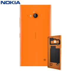 Official Nokia Lumia 735 Wireless Charging Shell - Orange