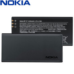 Official Nokia Lumia 820 BP-5T Replacement Battery - 1650mAh