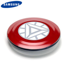 Official Samsung Avengers Qi Wireless Charger Pad - Iron Man