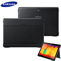 Official Samsung Book Cover for Galaxy Note 10.1 2014 - Black