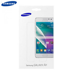 Official Samsung Galaxy A3 2015 Screen Protector - 2 Pack