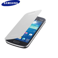 Official Samsung Galaxy Ace 3 Flip Cover - White