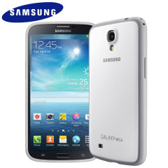 Official Samsung Galaxy Mega 6.3 Protective Case Cover Plus - White
