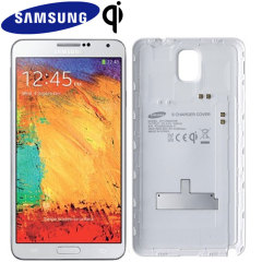 Official Samsung Galaxy Note 3 Wireless Charging Cover - White