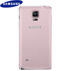 Official Samsung Galaxy Note 4 Back Cover - Pink