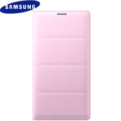 Official Samsung Galaxy Note 4 Flip Wallet Cover - Pink