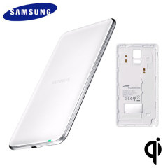 Official Samsung Galaxy Note 4 Qi Wireless Charging Kit - White