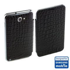 Official Samsung Galaxy Note Flip Cover - Lizard- SAMGNLFC