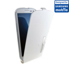 Official Samsung Galaxy S3 Flip Case - White