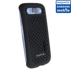 Official Samsung Galaxy S3 Mesh Vent Case - Black