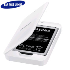 Official Samsung Galaxy S4 Mini Extra Battery Kit - White