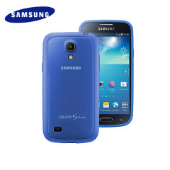 Official Samsung Galaxy S4 Mini Protective Cover Plus - Cyan