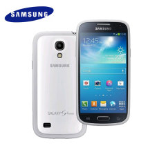 Official Samsung Galaxy S4 Mini Protective Cover Plus - White
