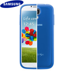 Official Samsung Galaxy S4 Protective Hard Case Cover + - Light Blue