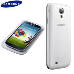 Official Samsung Galaxy S4 Wireless Charging Pad with Cover - White