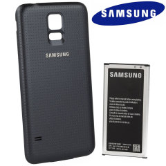 Official Samsung Galaxy S5 3500mAh Extended Battery and Cover - Black
