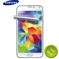 Official Samsung Galaxy S5 Mini Screen Protector Twin Pack