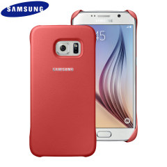 Official Samsung Galaxy S6 Protective Cover Case - Coral