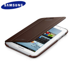 Official Samsung Galaxy Tab 2 7.0 Book Cover - Amber Brown