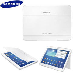 Official Samsung Galaxy Tab 3 10.1 Book Cover - White