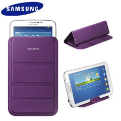Official Samsung Galaxy Tab 3 7.0 Stand Pouch - Violet