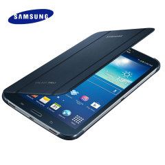 Official Samsung Galaxy Tab 3 8.0 Book Cover - Topaz Blue