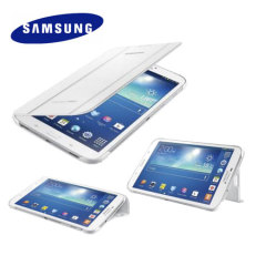 Official Samsung Galaxy Tab 3 8.0 Book Cover - White