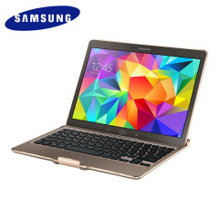 Official Samsung Galaxy Tab S 10.5 Keyboard Case - Titanium Bronze