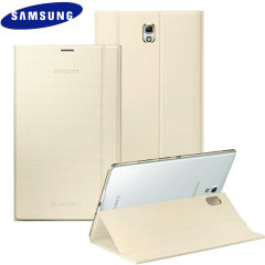 Official Samsung Galaxy Tab S 8.4 Book Cover - Ivory