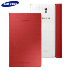 Official Samsung Galaxy Tab S 8.4 Simple Cover - Glam Red