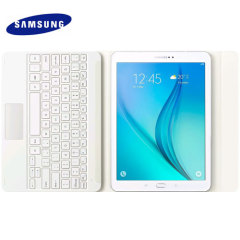 Official Samsung Galaxy Tab S2 9.7 Bluetooth Keyboard Case - White