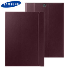 Official Samsung Galaxy Tab S2 9.7 Book Cover Case - Wine