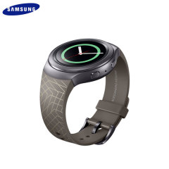 Official Samsung Gear S2 Watch Strap - Mendini Edition - Brown
