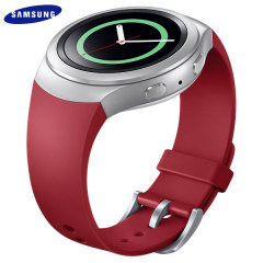 Official Samsung Gear S2 Watch Strap - Red