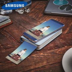Official Samsung Image Stamp Portable Smartphone Printer - Blue