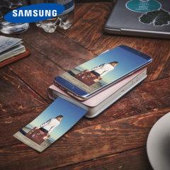 Official Samsung Image Stamp Portable Smartphone Printer - Pink