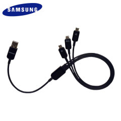 Official Samsung Micro USB Multi Charging Cable - Black