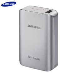Official Samsung Portable 5,100mAh Fast Charge Battery Pack - Silver