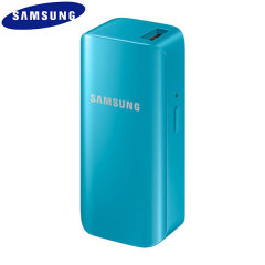 Official Samsung Portable Universal USB 2,100mAh Battery Pack - Blue