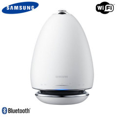Official Samsung R6 Omnidirectional Bluetooth Multiroom Speaker- White