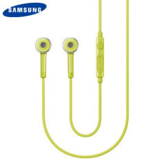 Official Samsung Stereo Headset with Remote & Microphone - Green