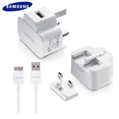 Official Samsung Travel Adapter with Micro USB 3.0 Cable - White