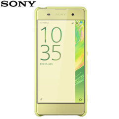 Official Sony Xperia XA Protective Style Cover Case - Lime Gold