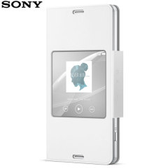 Official Sony Xperia Z3 Compact Style Cover Stand Case - White