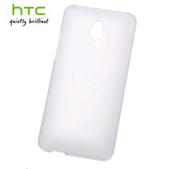 Official Translucent Hard Shell Case for HTC Desire 601 - White