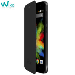 Official Wiko Bloom Folio Case - Black