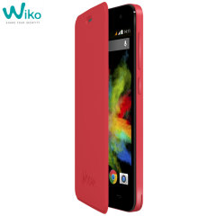 Official Wiko Bloom Folio Case - Coral