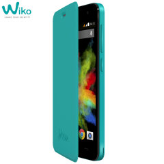 Official Wiko Bloom Folio Case - Turquoise