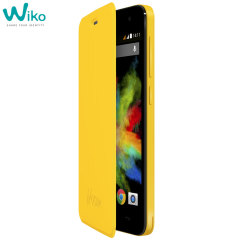 Official Wiko Bloom Folio Case - Yellow