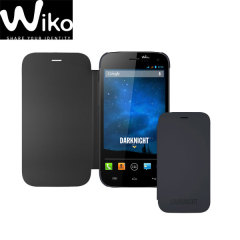Official Wiko Darknight Folio Case - Dark Blue